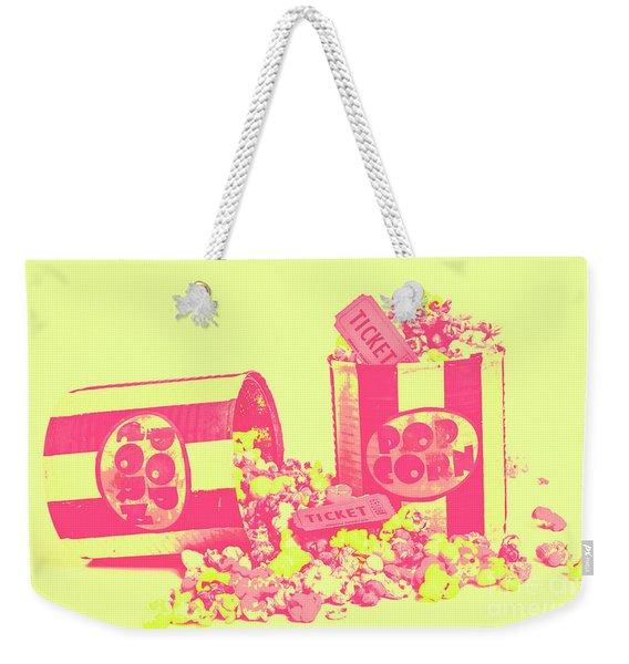 Cine Design Weekender Tote Bag
