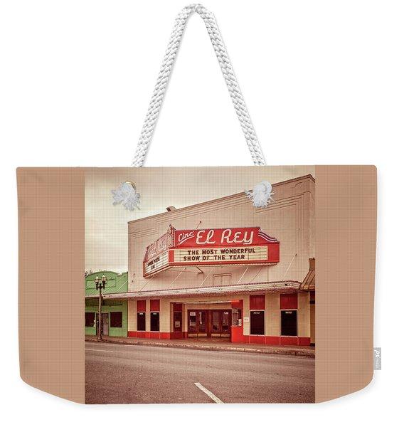 Cine El Rey Theater Weekender Tote Bag