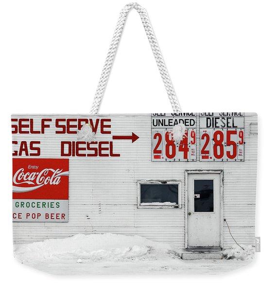Circle, Montana Weekender Tote Bag