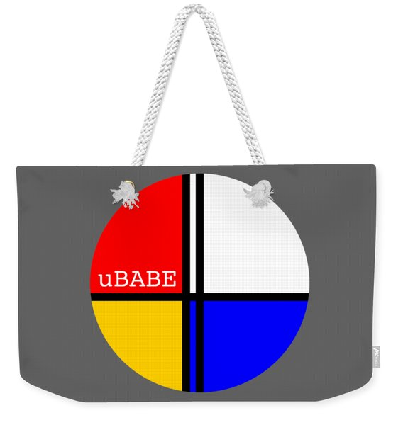 Circle Style Weekender Tote Bag