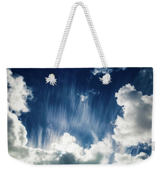 Cirrus Fibratus Weekender Tote Bag