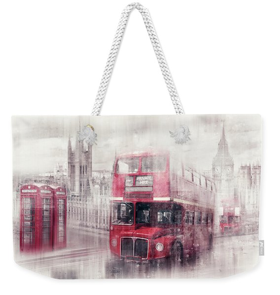 City-art London Westminster Collage II Weekender Tote Bag