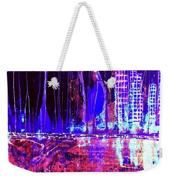 City By The Sea L Weekender Tote Bag