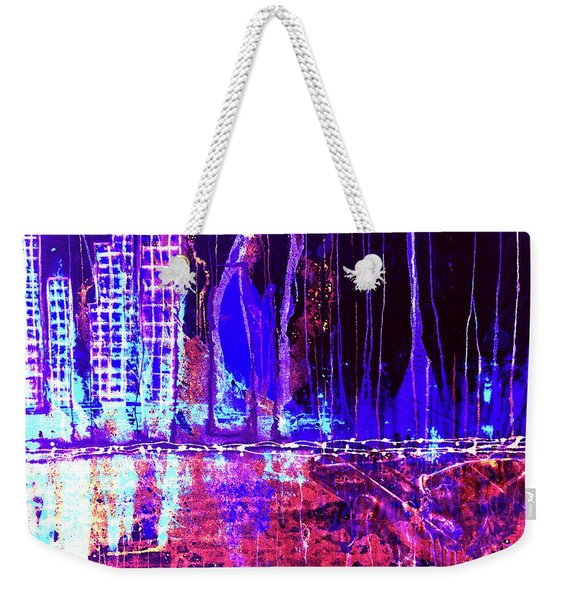 City By The Sea Right Weekender Tote Bag