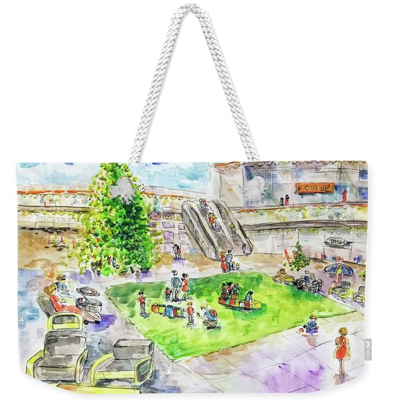 City Center Mall Christmas 2018 Weekender Tote Bag