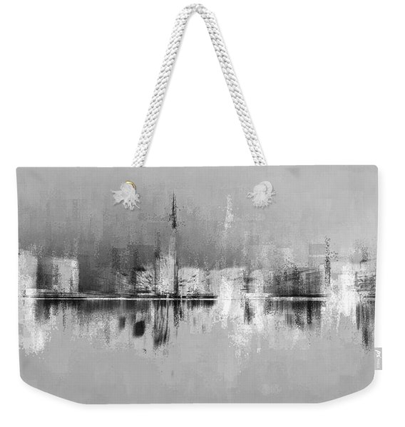 City In Black Weekender Tote Bag