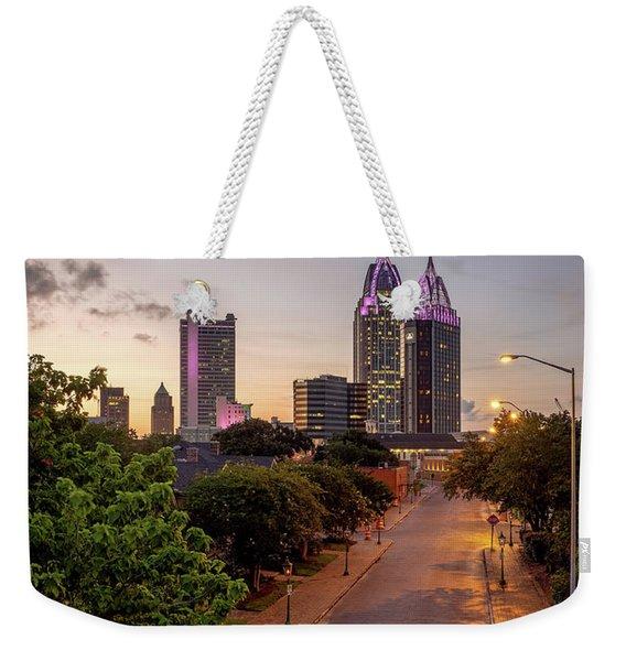 City Of Mobile Weekender Tote Bag