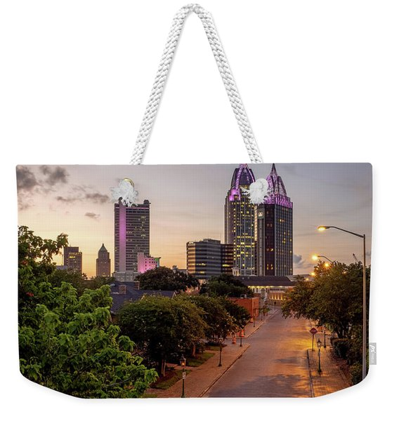 City Of Mobile Weekender Tote Bag