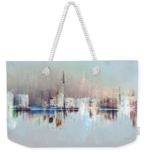 City Of Pastels Weekender Tote Bag