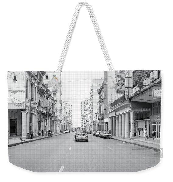 City Street, Havana Weekender Tote Bag