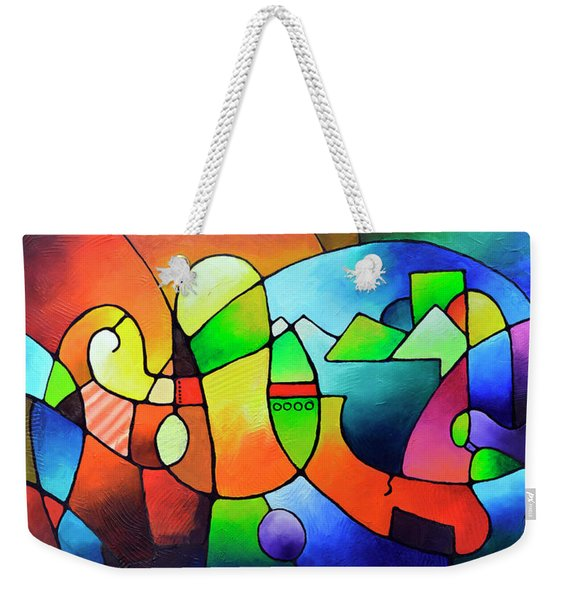 Clarity Of Focus Weekender Tote Bag