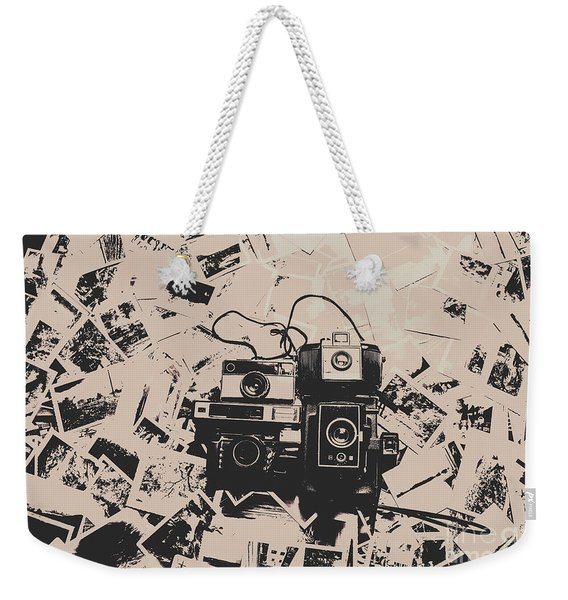 Classic Cameras And Captures Weekender Tote Bag