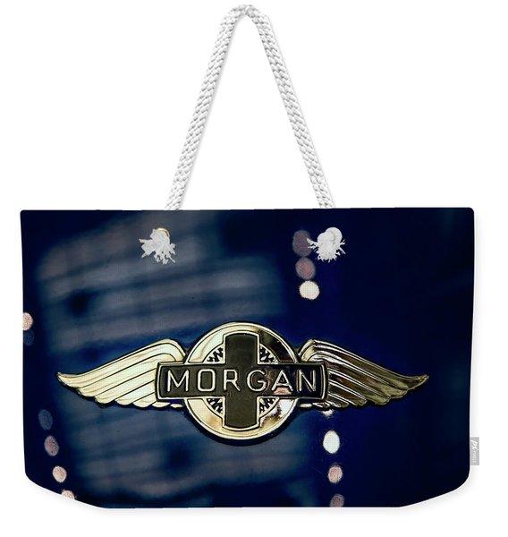 Classic Morgan Name Plate Weekender Tote Bag