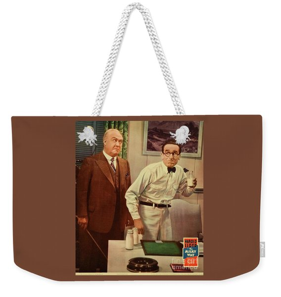 Classic Movie Poster - The Milky Way Weekender Tote Bag