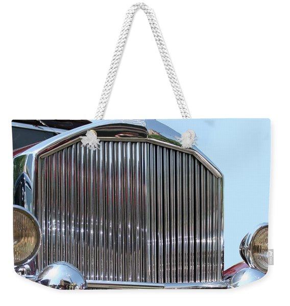 Classic Pierce Arrow Automobile Weekender Tote Bag