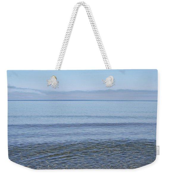 Clear Lake Superior Weekender Tote Bag