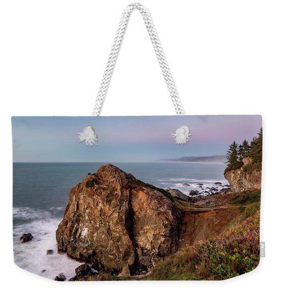 Clear Sunset At Wedding Rock Weekender Tote Bag