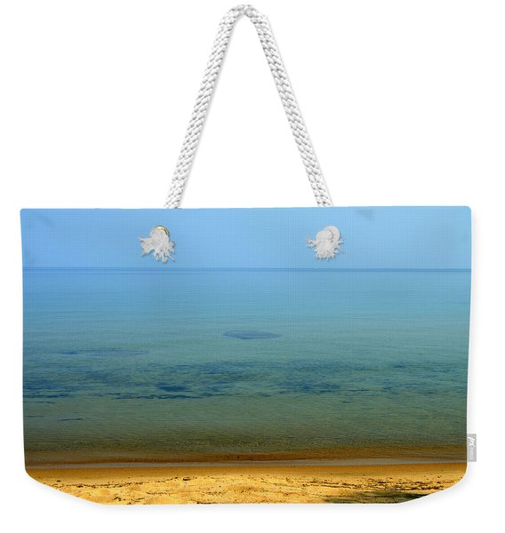 Clearness Of Lake Superior Weekender Tote Bag