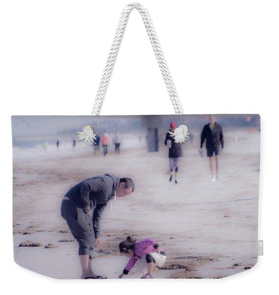 Clearwater Beachcombing Weekender Tote Bag