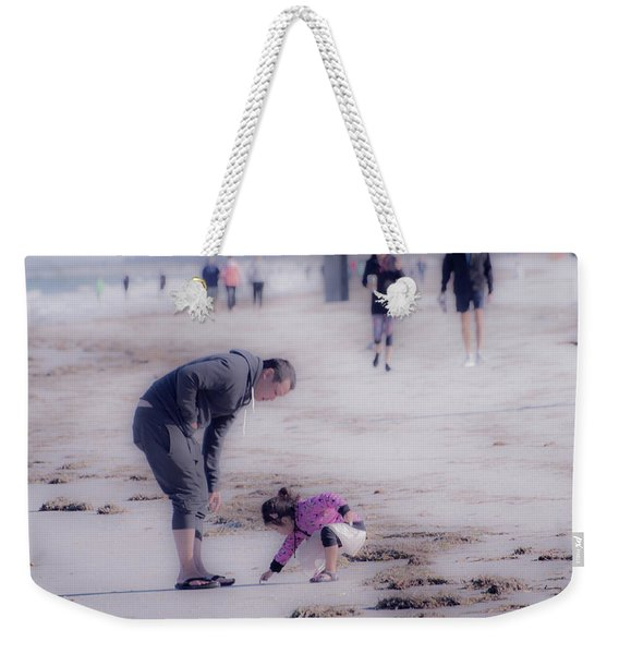 Clearwater Beachcombing Weekender Tote Bag