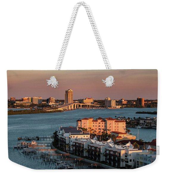 Clearwater Evening Weekender Tote Bag