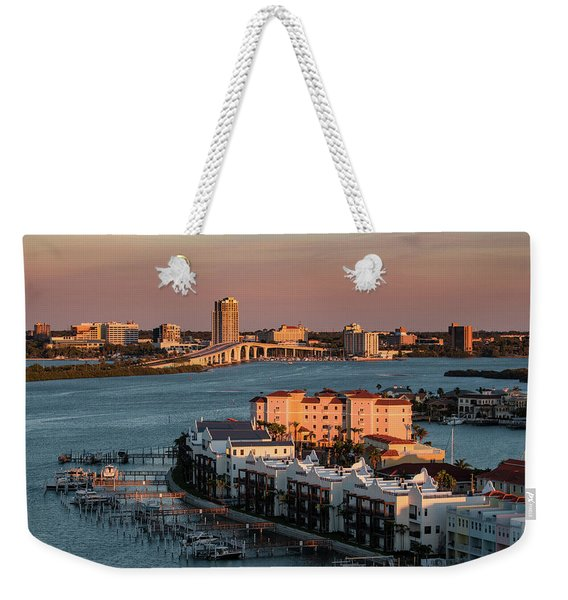 Clearwater Evening Weekender Tote Bag