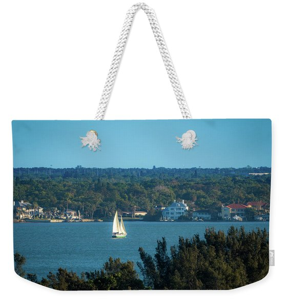 Clearwater Sails Weekender Tote Bag