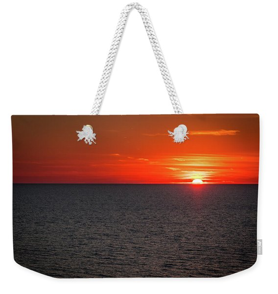 Clearwater Sunset Weekender Tote Bag