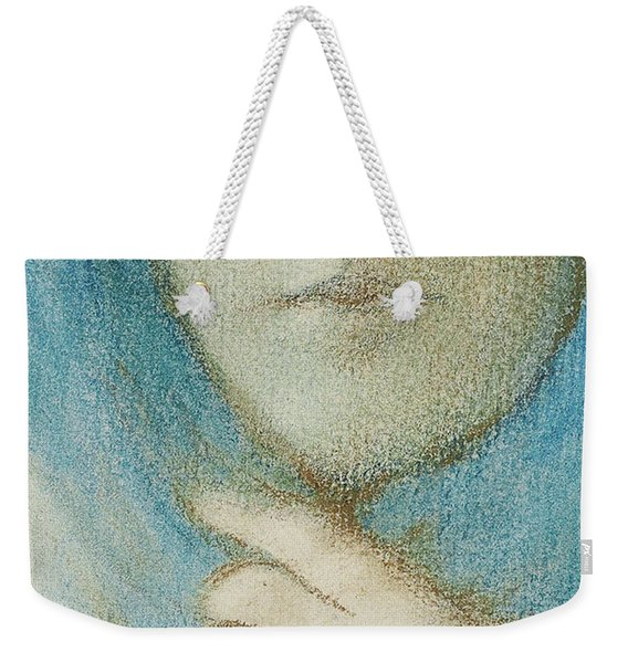 Clematis, Circa 1914 Pastel Weekender Tote Bag