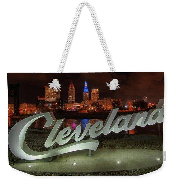 Cleveland Proud  Weekender Tote Bag