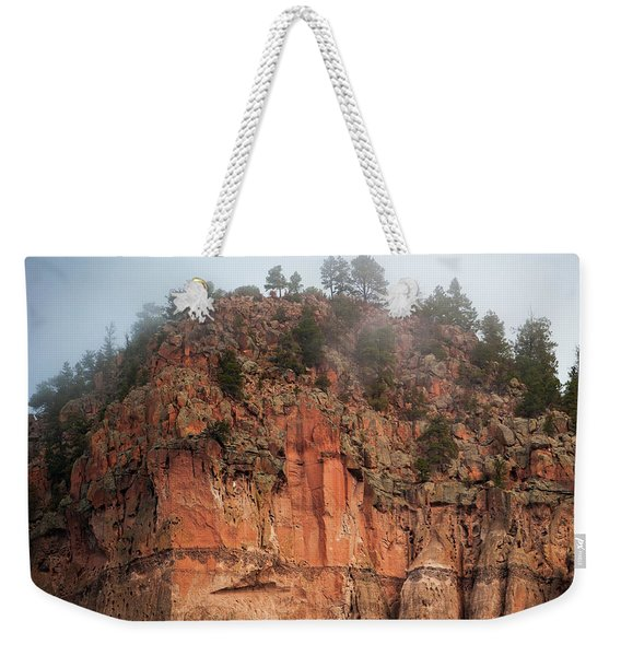 Cliff Face Hz Weekender Tote Bag