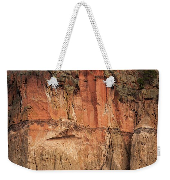 Cliff Face Weekender Tote Bag