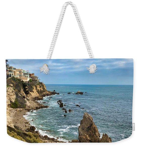 Cliffs Of Corona Del  Mar Weekender Tote Bag