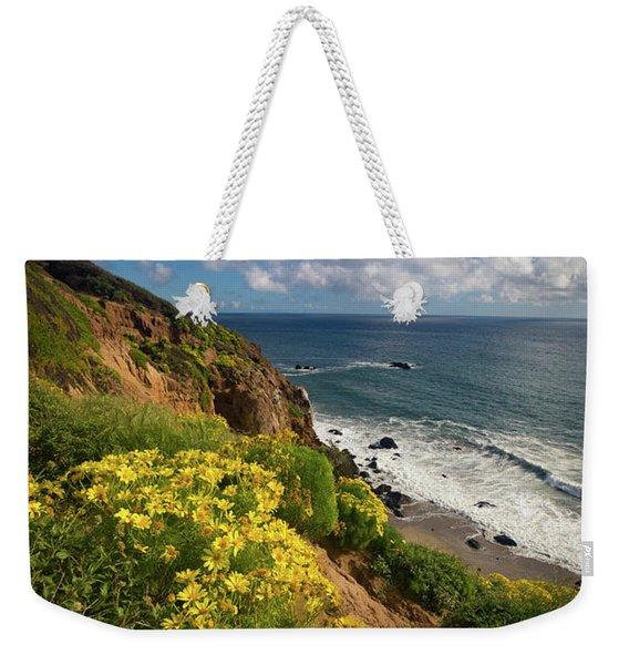 Cliffside Weekender Tote Bag