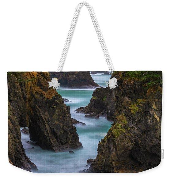 Cliffside Views Weekender Tote Bag