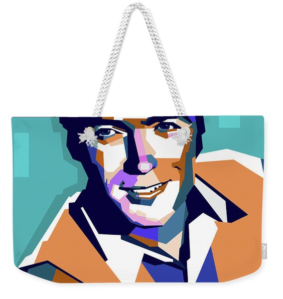Clint Eastwood Weekender Tote Bag