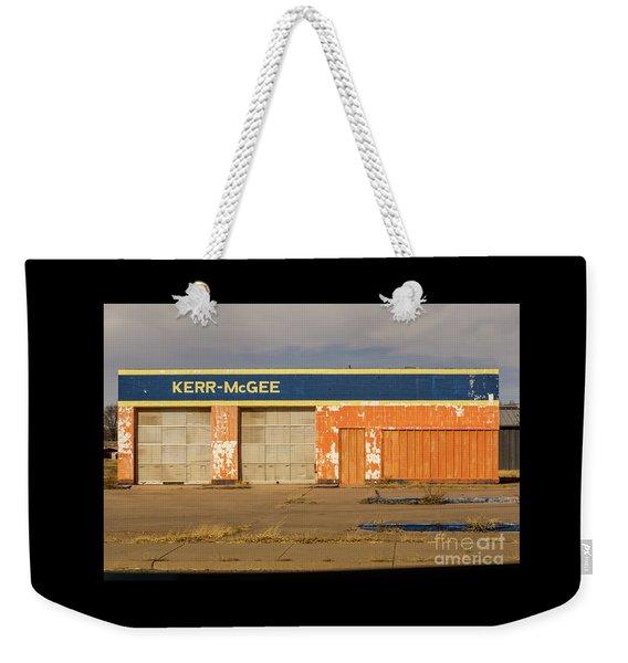 Closed Kerr - Mcgee Station Weekender Tote Bag