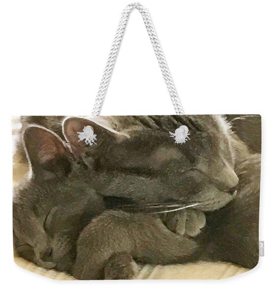 Cloud And Myst Weekender Tote Bag