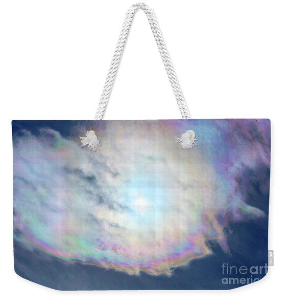 Cloud Iridescence Weekender Tote Bag