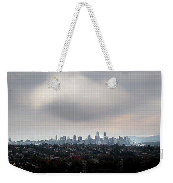 Cloud On Vancouver  Weekender Tote Bag