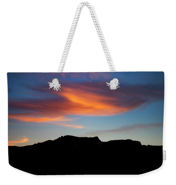 Cloud Over Mt. Boney Weekender Tote Bag