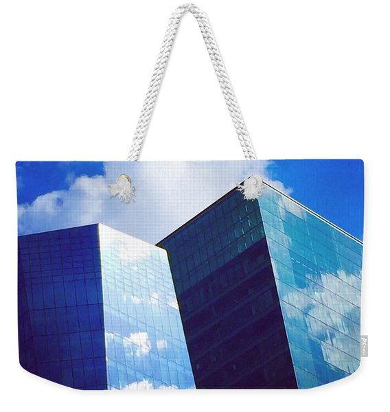 Cloud Relection Weekender Tote Bag