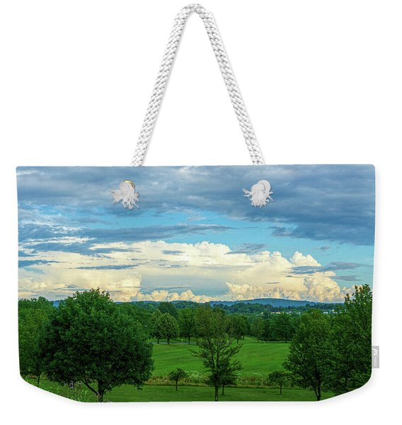Cloud View Lehigh Valley Weekender Tote Bag