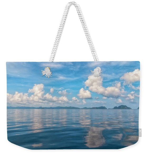 Clouded Bliss Weekender Tote Bag