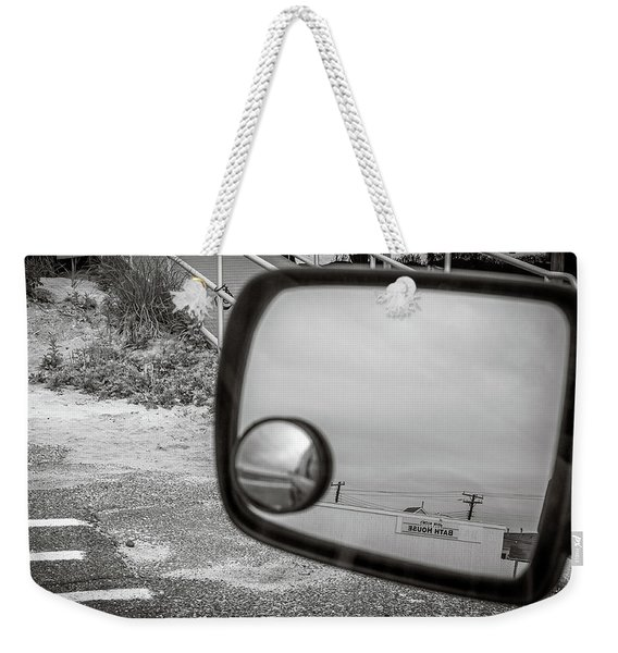 Cloudy Day Reflection Weekender Tote Bag