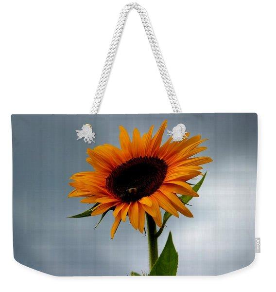 Cloudy Sunflower Weekender Tote Bag