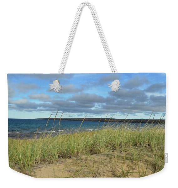 Cloudy Weekender Tote Bag