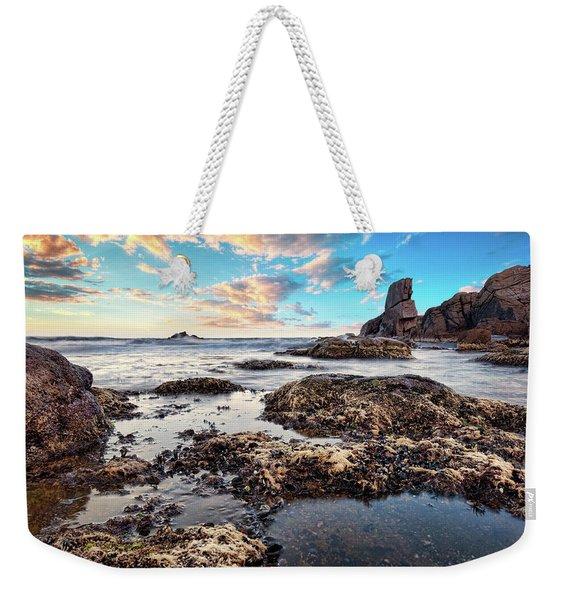 Coast At Sozopol, Bulgaria Weekender Tote Bag