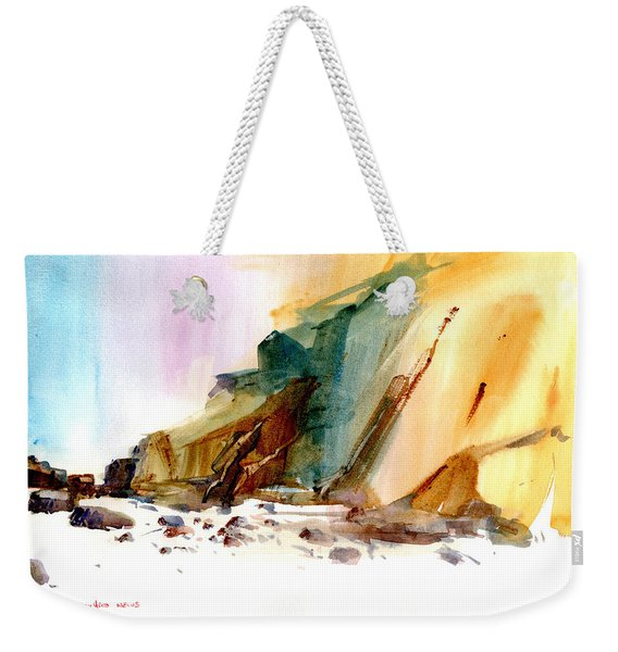 Coastal Cliffs Weekender Tote Bag