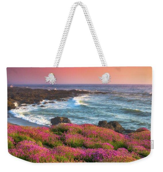 Coastal Clover Sunset Weekender Tote Bag